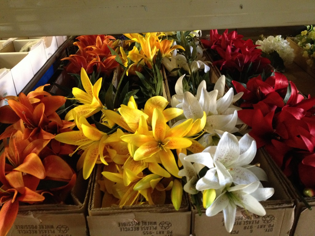 Silk Flowers Cathedral Wholesale Florists